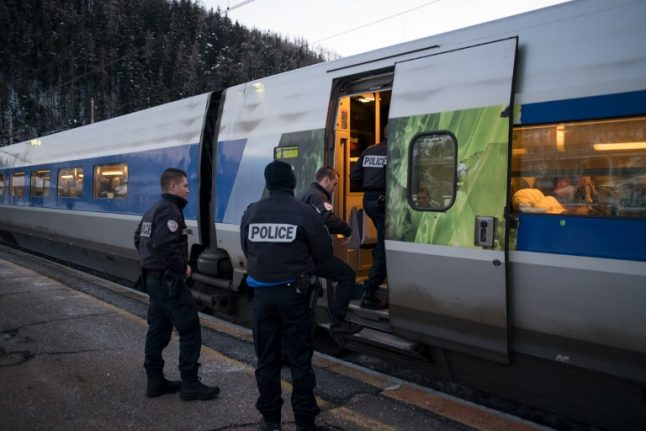 Migrant electrocuted on top of train from Italy to France