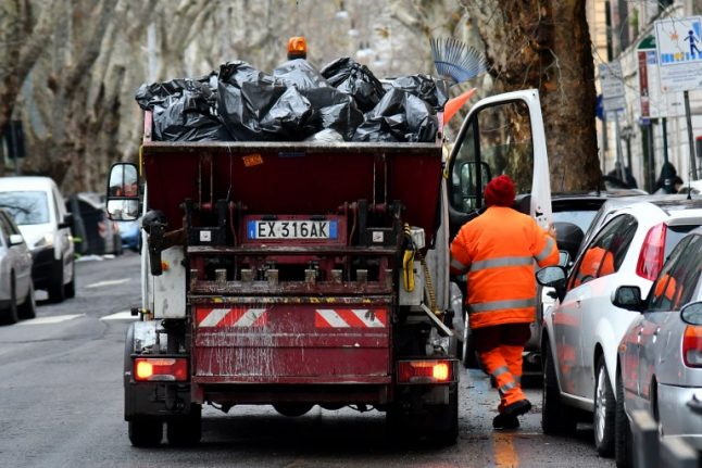 Abruzzo agrees to take on Rome's overflowing rubbish