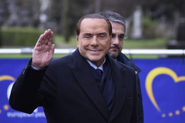 Berlusconi could save Italy from 'Trump-style' populists: ex-Economist editor
