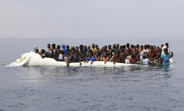 Italy migrant levels down 34 percent in 2017: Frontex