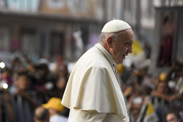 Pope Francis says he fears 'accidental' nuclear war