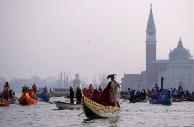IN PICTURES: Venice's iconic Carnival kicks off in style