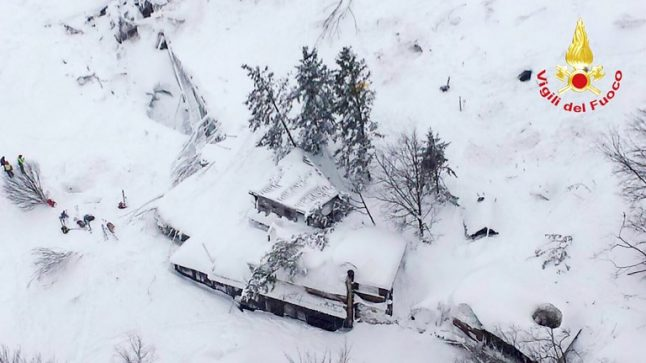 Italy marks one year since deadly Rigopiano avalanche