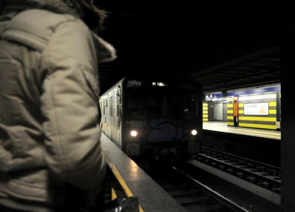 Man arrested for pushing woman onto Rome metro tracks