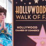 At the Hollywood ceremony where her star on the Walk of Fame was unveiled, 2018Photo: Valerie Macon/AFP