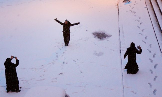 Today in Italian politics: Who needs an election when you have snow?