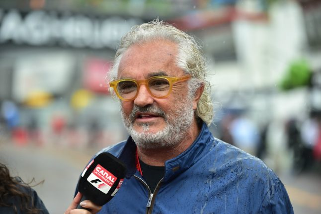 Former Renault F1 boss Flavio Briatore gets 18-month sentence for tax fraud