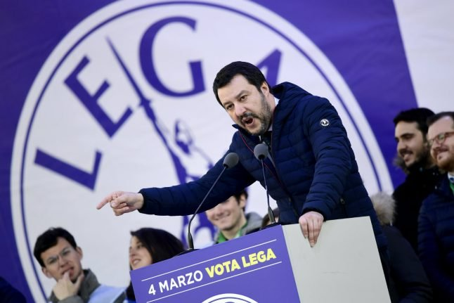 Matteo Salvini, Italy's rebranded nationalist sharing power with former enemy