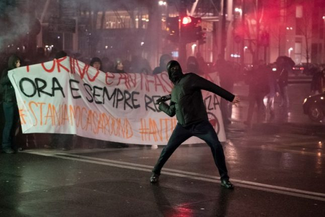 Today in Italian politics: Italy is braced for a weekend of protests