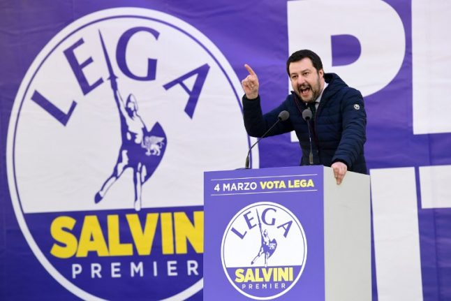 Is Italy's League a 'far-right' party?