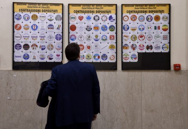 Italy's final pre-election polls put centre-right in the lead