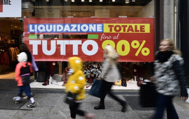 Italy's fragile economic recovery hangs on the election