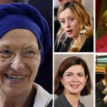 Five women set to play important roles in the Italian election