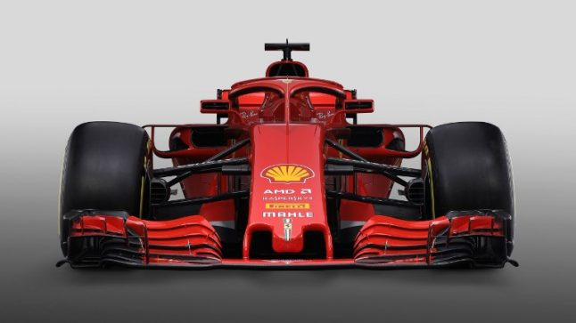 Italy's Ferrari chases Formula One title with new 2018 racing car