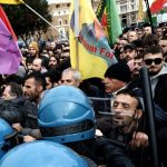 Clashes at banned protest against Erdogan's visit to Rome, one hurt