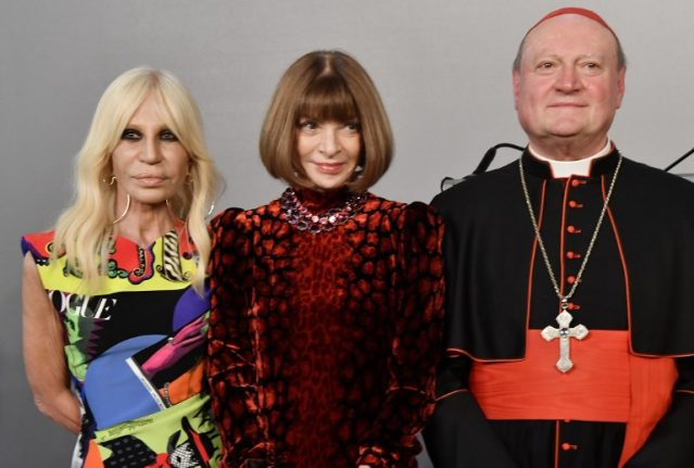 The Pope's new clothes: Catholic 'fashion' to go on show in New York