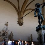 American tourist faces fine for peeing on famous Florence arches