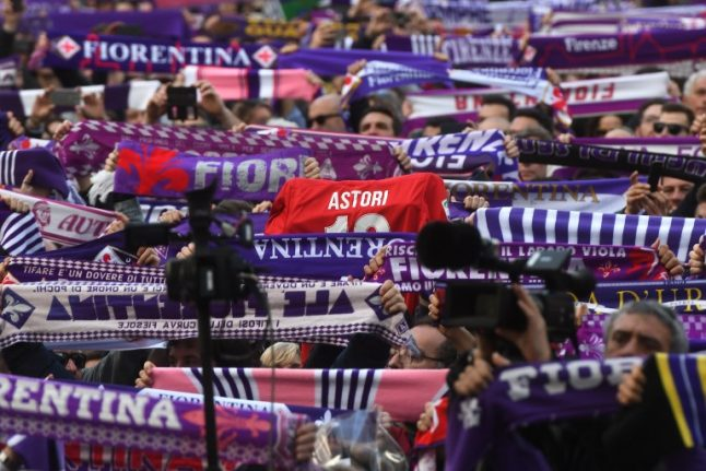 PICTURES: Thousands in Florence for Davide Astori's funeral