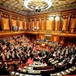 Italy's parliamentary vote deadlocked as most ballots filed blank