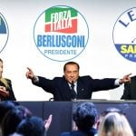 Today in Italian politics: Berlusconi has four heroes, and one of them is himself