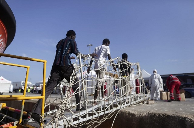Migrant rescued at sea dies hours after arriving in Italy