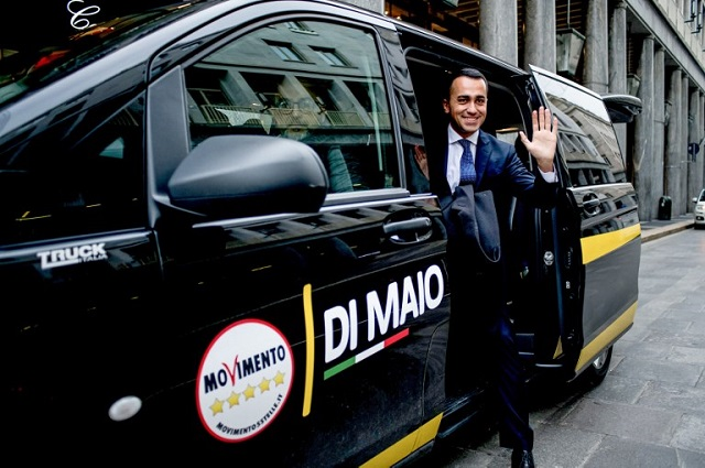 Five Star leader Di Maio calls on Italy's parties to end post-election deadlock