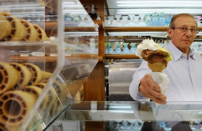 'When you eat a cone it is love': Five favorite gelaterie in Rome