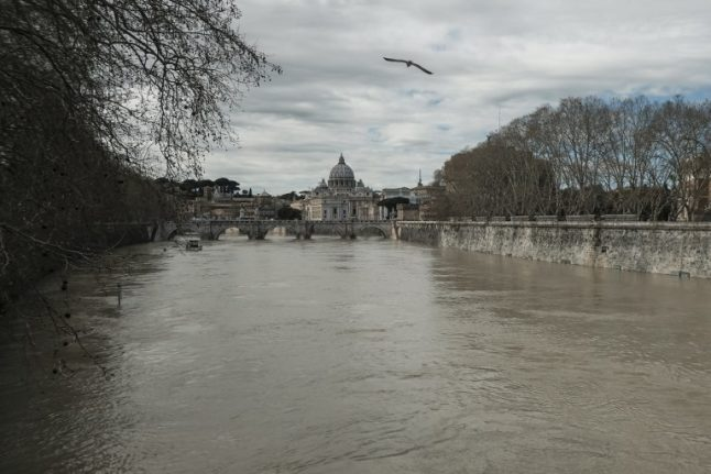 Woman hurt by falling tree amid high winds in Rome