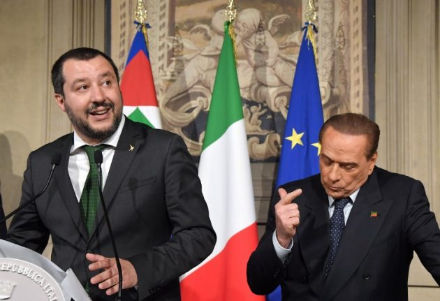 Five Star Movement's ultimatum to the Italian right: Ditch Berlusconi by Sunday