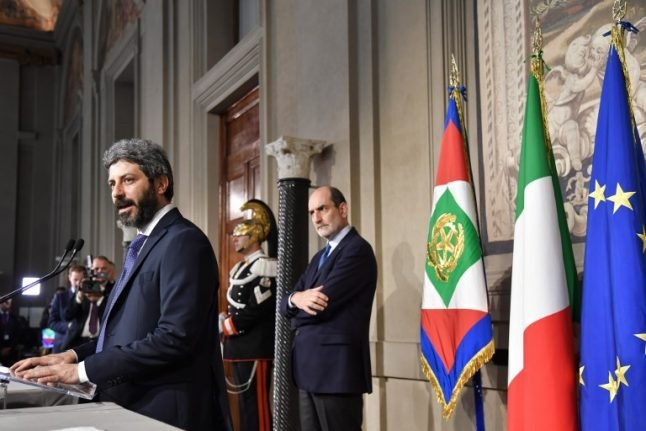 Italy's Five Star Movement 'explores' coalition with centre-left