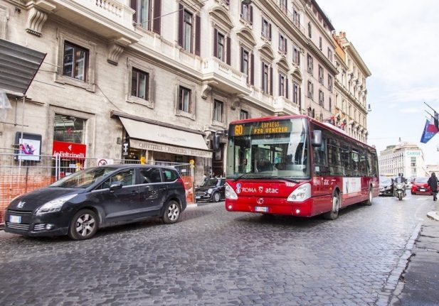 Rome transport authority opens inquiry after yet another bus bursts into flames