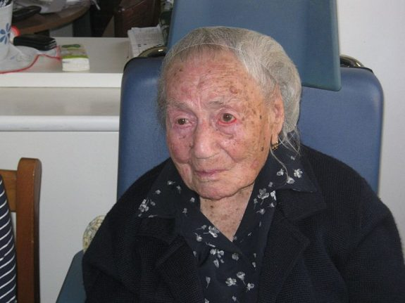 Italian nonna becomes the world's second oldest person