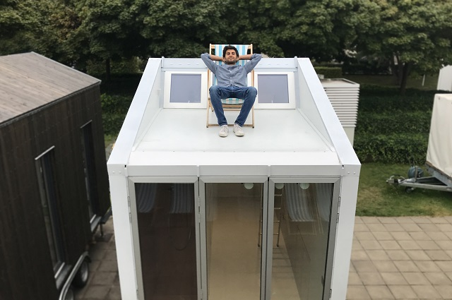Meet the Italian architect living in a nine-square-metre home
