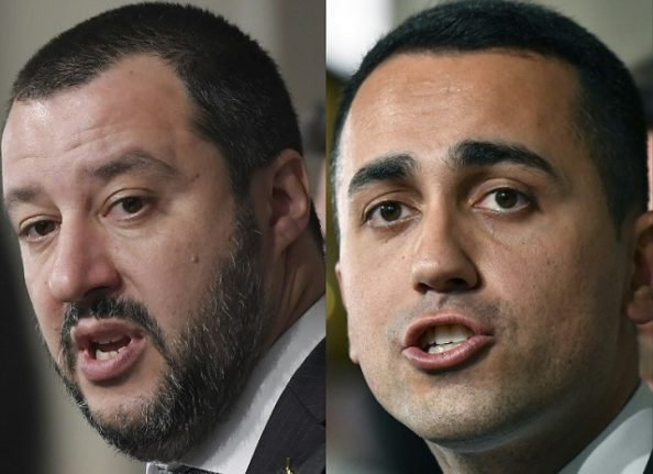 Italy's League and M5S set to announce their government programme