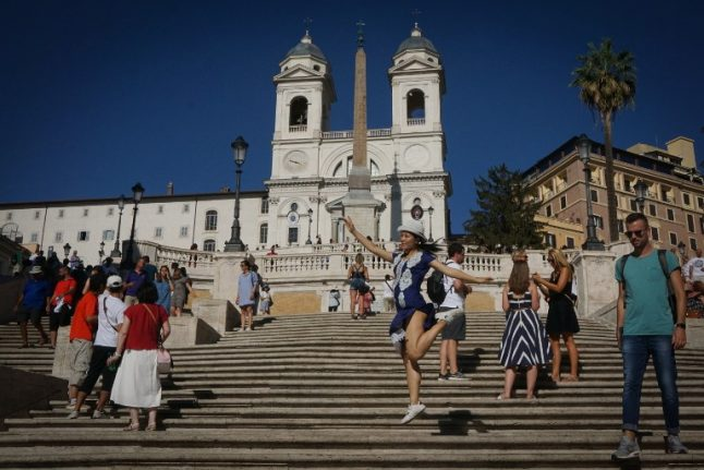 Tourists spent nearly €40 billion in Italy last year