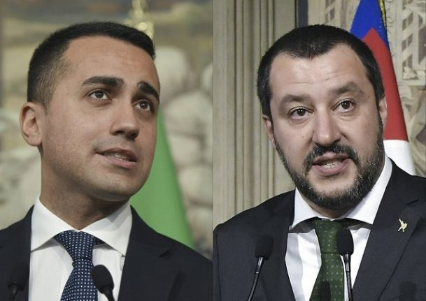 Here are the key proposals from the M5S-League government programme