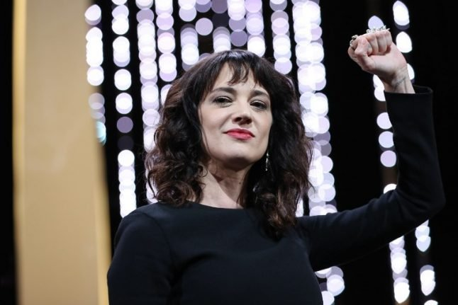 Actress Asia Argento: Cannes was Weinstein's 'hunting ground'