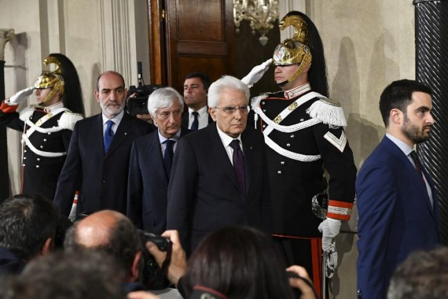 Italy in fresh political chaos amid calls to impeach the president