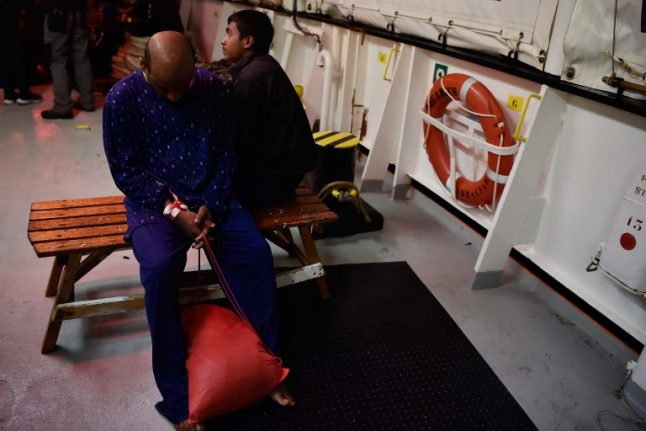 Rescued migrants allowed to land in Italy after two-day wait at sea