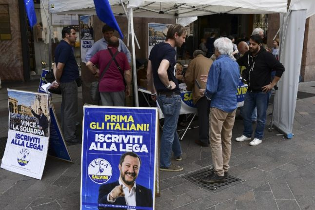 Italy's voters give their verdict on new government programme