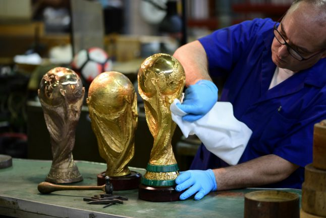 The workshop that makes eliminated Italy home of the World Cup