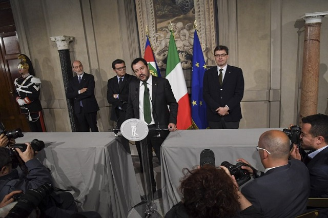 Italy's incoming eurosceptic government sparks crisis fears in Brussels