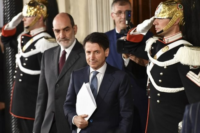 Italy's PM nominee in consultations to finalize cabinet