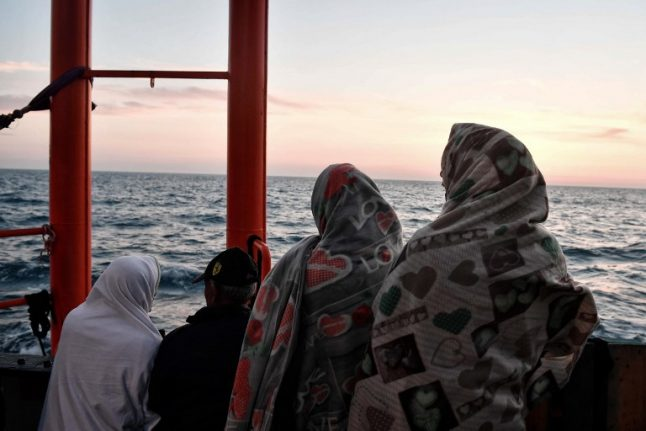 Migrants stranded in Med by diplomatic standoff arrive in Italy