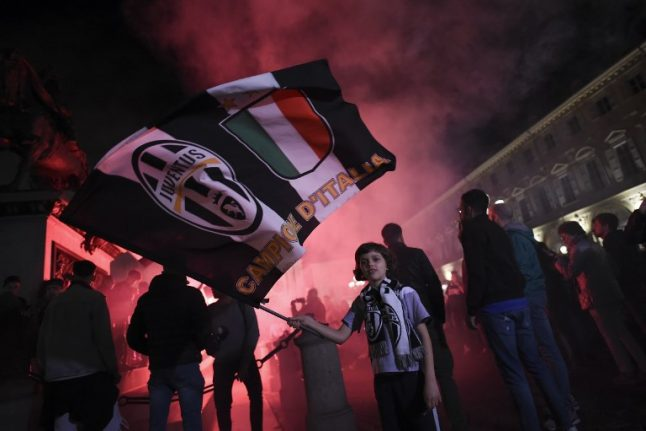 IN PICTURES: Juventus wins seventh Serie A in a row