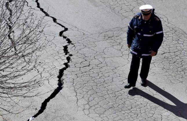 More than 30 square km of ground under Rome is at risk of collapsing