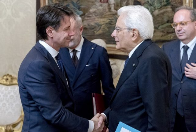 Italy's next prime minister announces cabinet as populists agree new deal