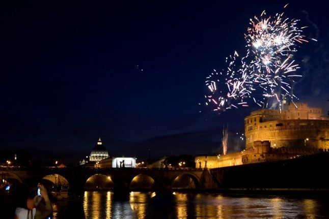 Flowers and fireworks: How Rome (usually) celebrates its patron saints' day