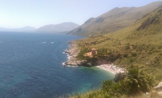 Exploring the wild beaches of north-west Sicily