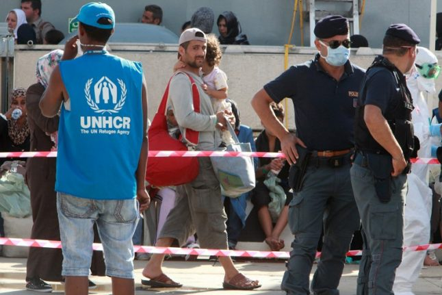 'We need to listen to Italy': UN refugee chief